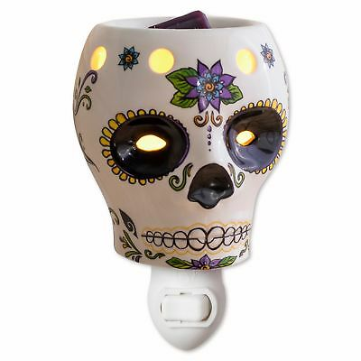 Ambiescents Day Of The Dead Mini Wax Home Aromatic Warmer