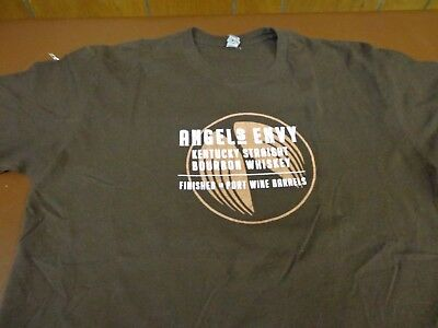 ANGEL'S ENVY BOURBON  WHISKEY Brown T Shirt Size  Medium Tee    T4