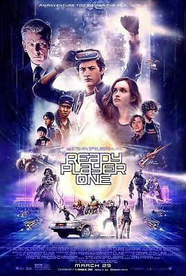 Ready Player One Movie Poster 2018 Steven Spielberg Film 13x20 24x36 27x40 32x48