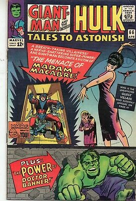 Tales To Astonish # 66 / Fine /  / Giant-Man / Hulk / Ditko.