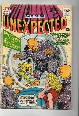 Tales Of The Unexpected # 46 / Good /  Dc 1960 / Space Ranger.