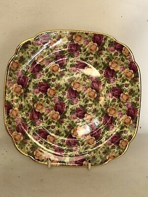 Vintage Royal Albert Old Country Roses Chintz Collection England Entree Plate