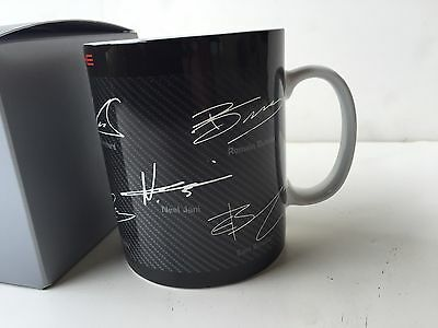 Porsche 919 Racing Lemans  Factory Coffee Mug/cup With Drivers Signatures