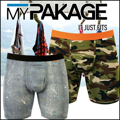 MyPackage Weekday Boxer Brief Collection Sizes XS - XXL