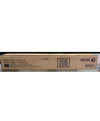 New Xerox 006R01219 Black Toner DocuColor 240, 242, 250 252 WorkCentre 7655 7665