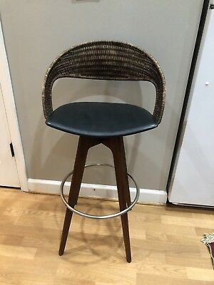 3 vintage mid century bar stools. Only selling as a set of 3.