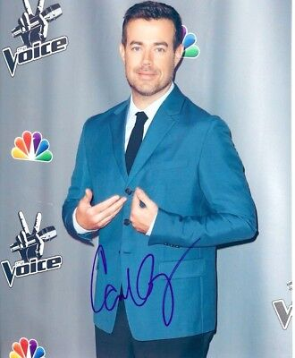 Carson Daly Signed Autograph 8 X 10 Photo Picture The Voice The Last Call Mtv