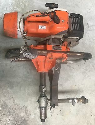 Stihl Bt4309 Post Hole Digger-2 Stroke-3 Augers-Pipe Locator&wand-Flexi Rods