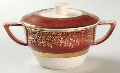 Salem ARISTOCRAT MAROON Sugar Bowl 6700166