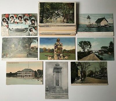 Vintage New York Themed Postcard Lot of 50 - AWESOME
