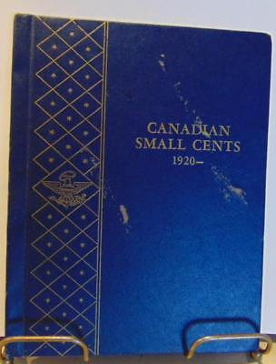 Vintage Canadian Small Cents 1920 On in Whitman Collector Partial Book 23 Coins