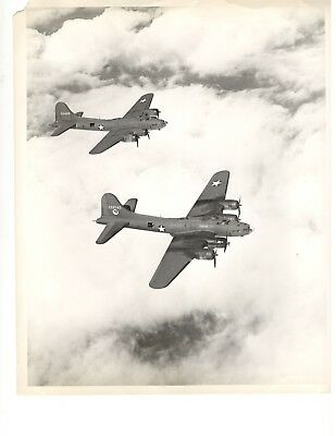 Vintage World War II WWII Photo Photography Boeing B-17 Flying Fortress 42-3428