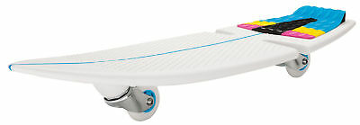 NEW Razor Ripsurf Caster Surf Like Skateboard - White/blue - Get 5% off*