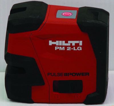 Hilti PM 2-LG Green Beam Laser Level