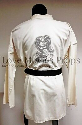 Karate Kid Cobra Kai Gi Screen Worn Movie Costume Pat Morita Ralph Macchio MMA