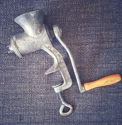 Vintage Meat Mincer Grinder - Made in England
