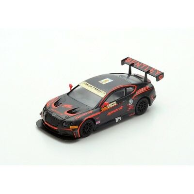 Spark Models 1:64 Bentley Continental Gt3 N¢X8 Macau Fia Gt World Cup 2015 Y104