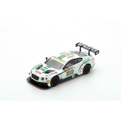 Spark Models 1:64 Bentley Continental Gt3 N¢X88 Macau Fia Gt World Cup 2015 Y103