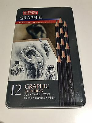 Derwent Graphic Soft Sketching Pencils NEW