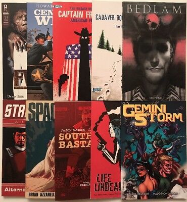 Mixed Lot (C) Of 10 TPB's, Image DC & Independents