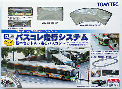 Tomytec Moving Bus System Basic Set A 1/150 N scale
