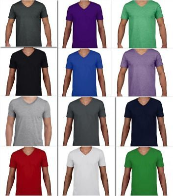 Gildan Softstyle® V-Neck Herren T-Shirt