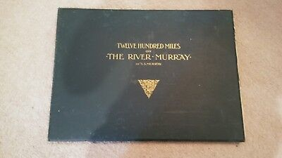 Twelve Hundred Miles on the River Murray-A.S. Murray-1898 1st Edition.HC