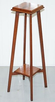 Understated Edwardian Mahogany Period Plant Jardiniere Pot Or Bust Stand