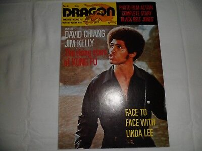 Dragon Martial Arts Magazine issue 6 from the 1970s good condition