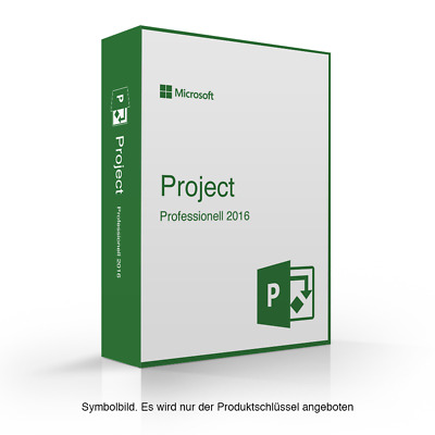 Microsoft Project 2016 Professional Vollversion Original MS Pro esd download
