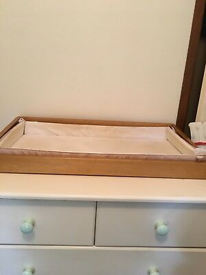 Baby Change Table Tray Drawer Top With Mat