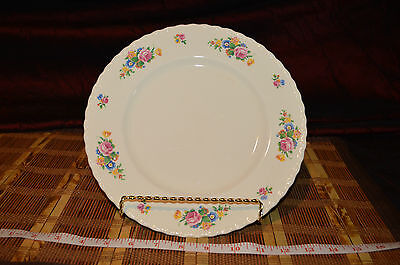 Myott Staffordshire Rose of England 3224 Dinner Plate 9 7/8""