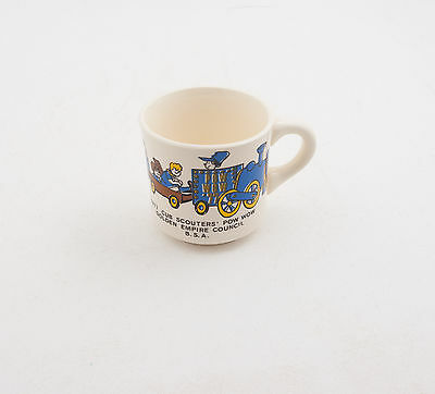 1977 Cub Scouters Pow Wow Boy Scouts of America BSA Coffee Cup Mug (D5R-10)