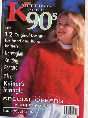 Knitting in the 90s. 12 original designs for hand and Bond knitting machines
