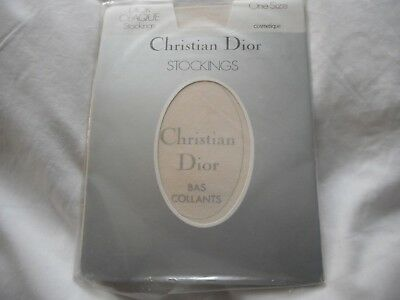 Christian Dior Opaque Stockings - One Size Cosmetique (Unused In Pack)