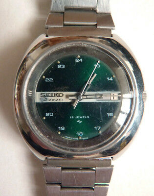 Armbanduhr mechanisch seiko Diamatic Japan um 1970 Automatisch Watch