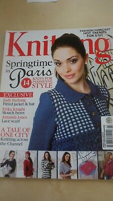 Designer Knitting Magazine March 2011 14 Springtime In Paris Knits + More
