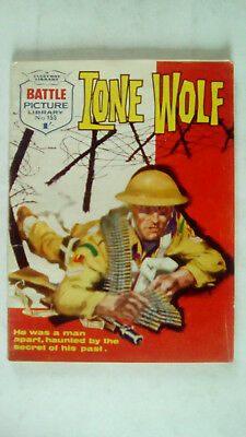 Lone Wolf Battle Picture Library Number 155 Fleetway Comic 1964