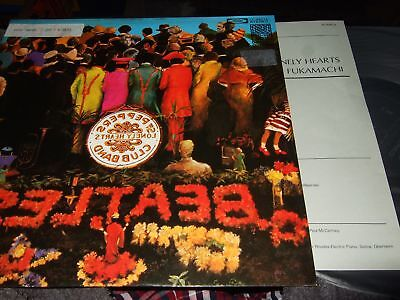 Jun Fukamachi : Sgt Peppers Lonely Heart Clubs Band Audiophile Pro Use Series Lp