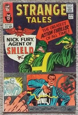 Strange Tales 135 1St Nick Fury And Origin.