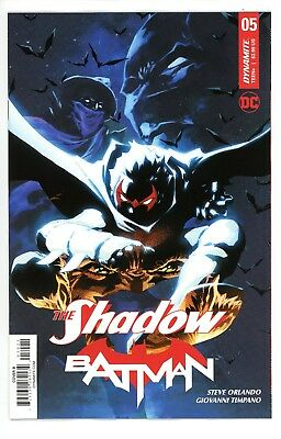 The Shadow - Batman  #5    * Variant *     Cover   B       Nm