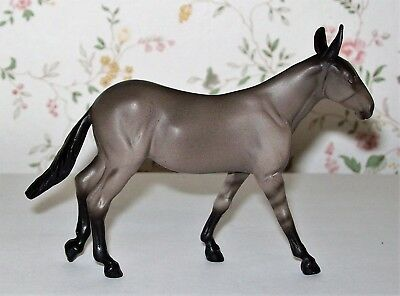 Peter Stone Chips Grulla Molly Mule with dorsal stripe and leg barring. LSQ/LSP