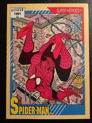1991 Impel Marvel Comics Spider-Man Diamond Comics Promo Card