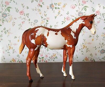 """Peter Stone 2002 Chestnut Pinto Weanling Filly """"Paar's Dream Doll"""" First Edition"""