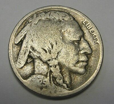 1925-S Buffalo Nickel Grading in Lower Grade Original Coins DUTCH AUCTION