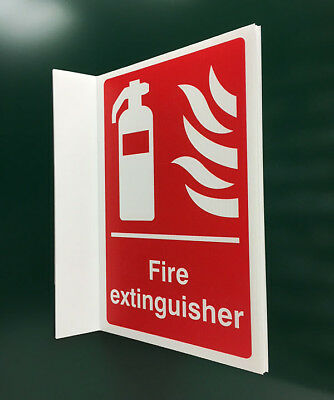 500x300mm Fire Extinguisher Projecting Sign