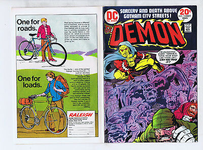The Demon 13(DC 1973) 1st series, Jack Kirby classic