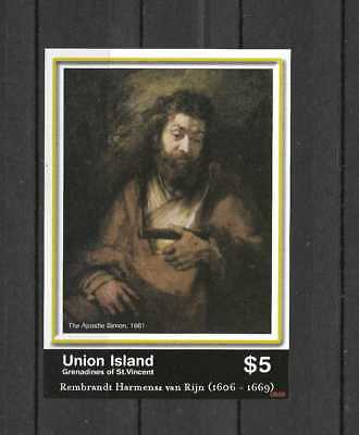 Union Islands # 316 Mint Never Hinged Mini Sheet