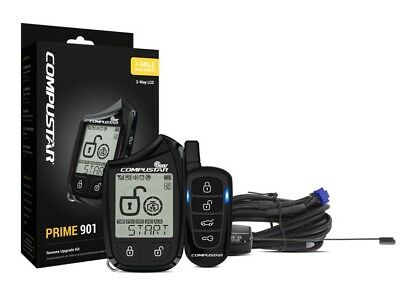 Compustar 2-Way LCD Remote Pager, 1 Mile Range, Rechargeable Battery