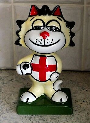 Lorna Bailey Vintage England Footballer Cat In Mint Condition.